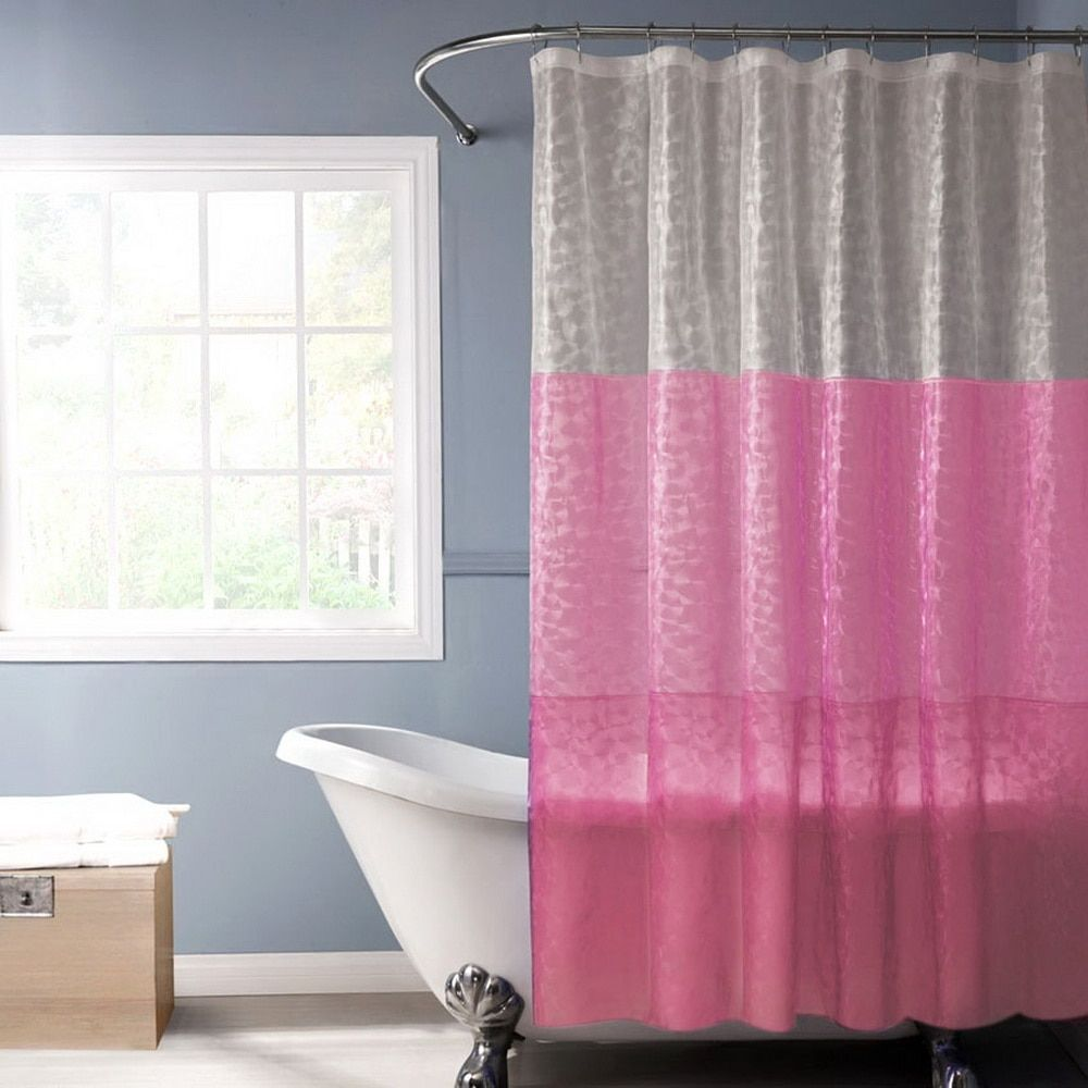 Happy Tree PEVA 3D Translucence Waterproof Shower Curtain Eco-Plastic Bathroom Curtain 3D Splice Bath Curtain 180x180cm.