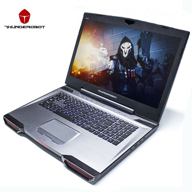 "ThundeRobot 911GT-Y6 17.3"" Gaming Laptops PC Tablets Intel Core i7 7700HQ Nvidia GTX1060 IPS 16GB RAM 256G+1T DOS OS Backlight"