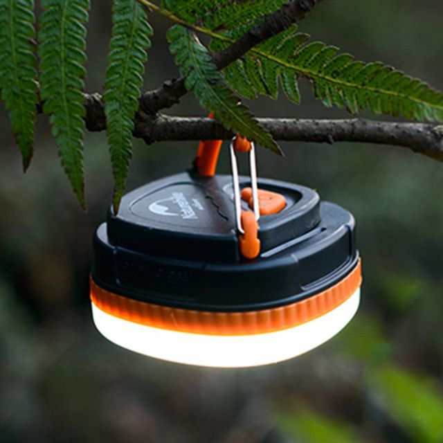 YHX YHX2016 NEW arrival  Hot Portable Outdoor LED Hiking Camping Tent Lantern Light Lamp Powered by AAA Battery