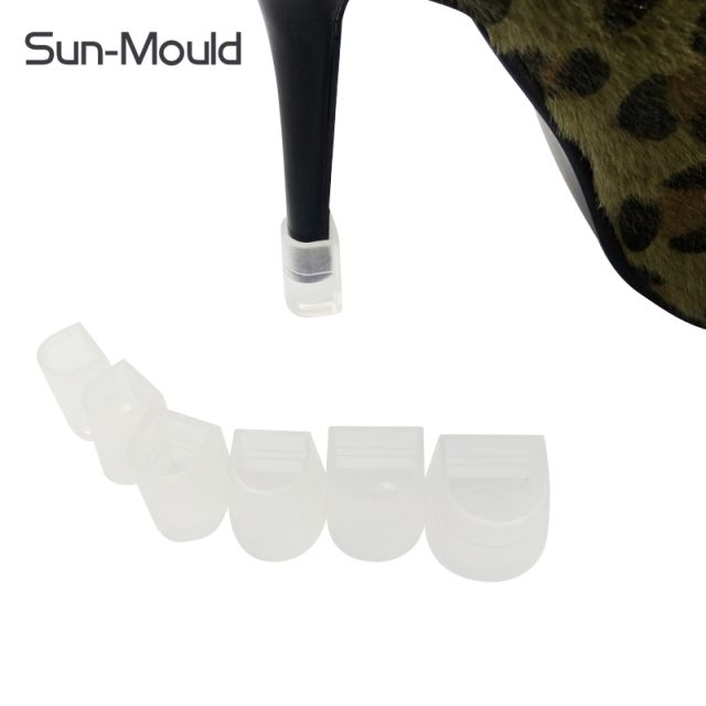 New 6 different size Easy Use high Stiletto Heel Protectors Antiskids and stop your shoes locked shoes heel protector 50 pairs