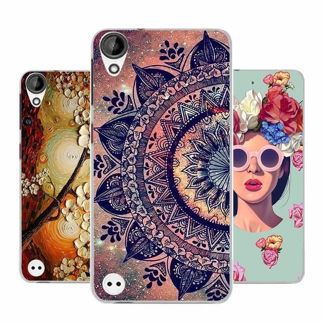 Cover For HTC Desire 530 Case 5.0 inch Pattern Painting TPU Soft Silicone Cover for HTC Desire 530 Phone Case
