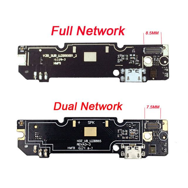 Phone Parts Original Xiaomi Redmi Note 3 Micro USB Plug Charge Board USB Flex Cable For Xiaomi Redmi Note 3 Pro Prime
