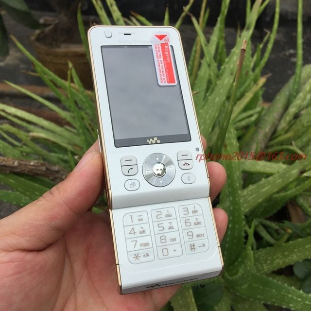 Original Sony Ericsson W910i Mobile Phone 3G Bluetooth W910 Cell Phone & One year warranty & Cheap Phone