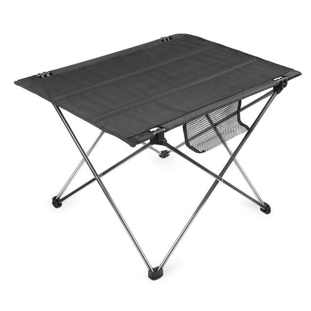 Portable SILVER Aluminium Alloy Ultralight Foldable Table For Camping  Hiking Picnic And Other Outdoor Activities