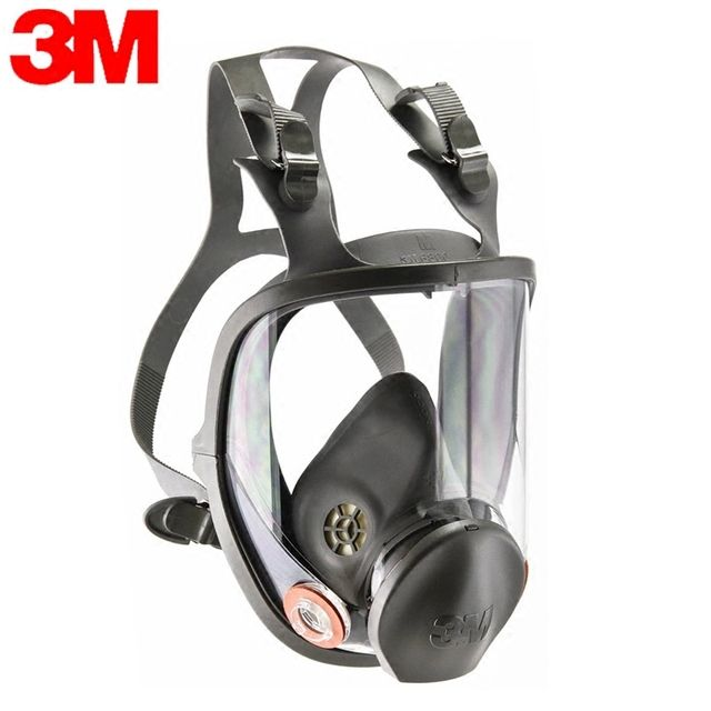 3M 6800 gas Mask 1pcs Acid Gas/Organic Vapor Cartridge Respiratory Protection Mask Spray paint chemical laboratory pesticide
