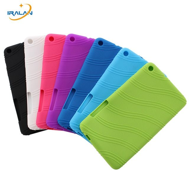 2017 Hot Ultra Slim Soft Silicon Back Cover for Huawei MediaPad T1 701u Tablet Case for Huawei T1 7.0 T1-701u free gift+stylus