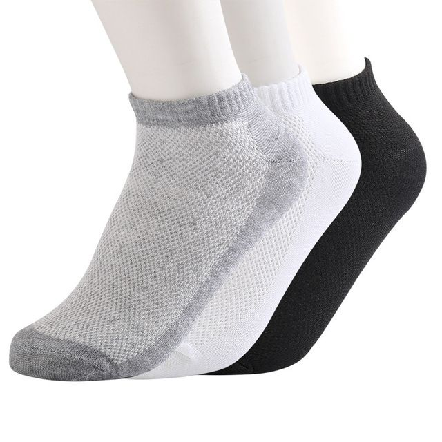1 Pair Mesh Ankle Socks women comfortable Thin pure color Elastic Socks summer runner socks,chaussette femme