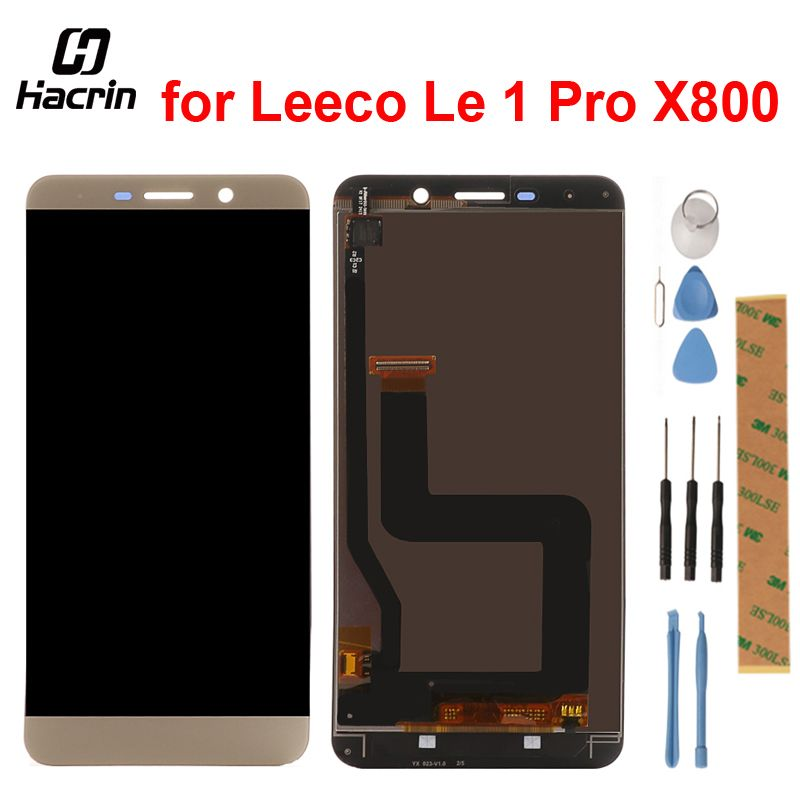 For Letv Leeco Le 1 Pro X800 LCD Screen 2560x1440 5.5inch 2k lcd display+touch Panel Replacement For Letv Le one Pro X800