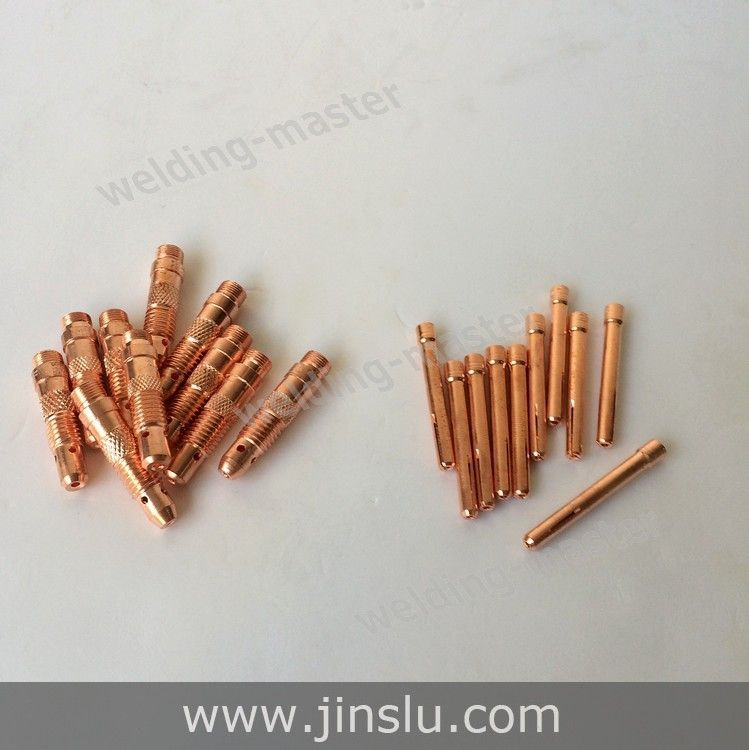 WP SR TIG Welding Torch Consumables Collet and Collet Body 2.0 mm kit  for WP-17 WP-18 WP-26 20 pcs