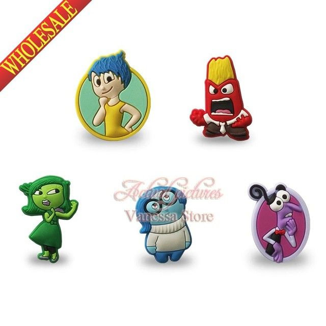 4pcs/lot Inside out Pins button badges brooches collection Kid's Gift DIY charms fit Clothes Bags children gifts