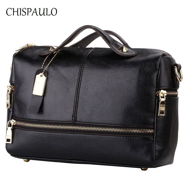 Luxury Brand Handbags Women Bags Designer Genuine Leather Bags For Women 2017 Messenger Bags Casual Ladies CrossBody Bag X39