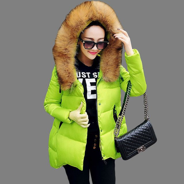 NEW Fashion Winter Jacket Women Long Style Parkas Coat Slim Casual Winter Coat Women Warm Parka Plus Size manteau femme SS889b