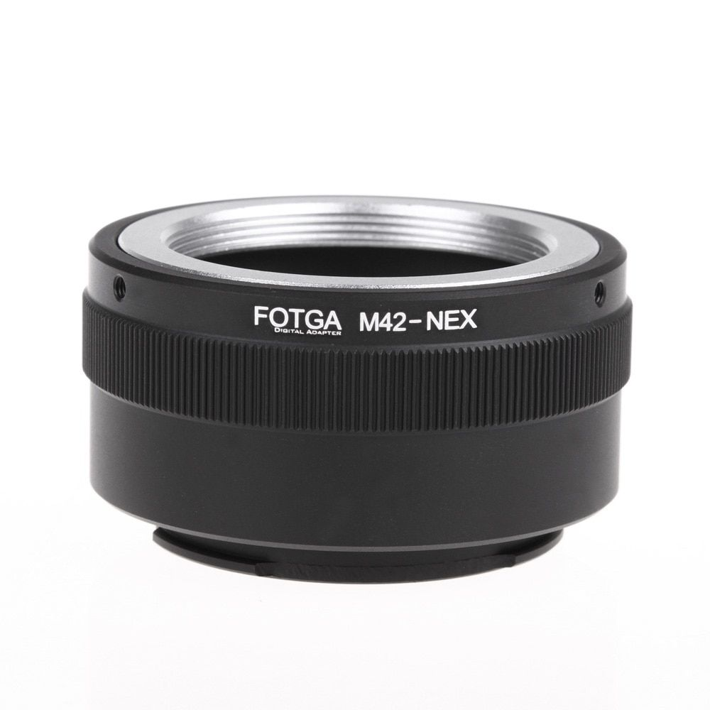 Fotga M42 Lens Adapter Ring Metal Lens Adapter for Sony NEX E-mount NEX NEX3 NEX5n NEX5t A7 A6000 Camera Lens Adapter Ring