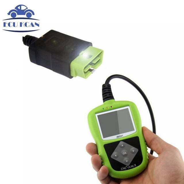 JDiag JD201 Code Reader With Color Screen For OBDII/EOBD/CAN Automotive Scanner Same Function X 431 Autel Autolink AL319
