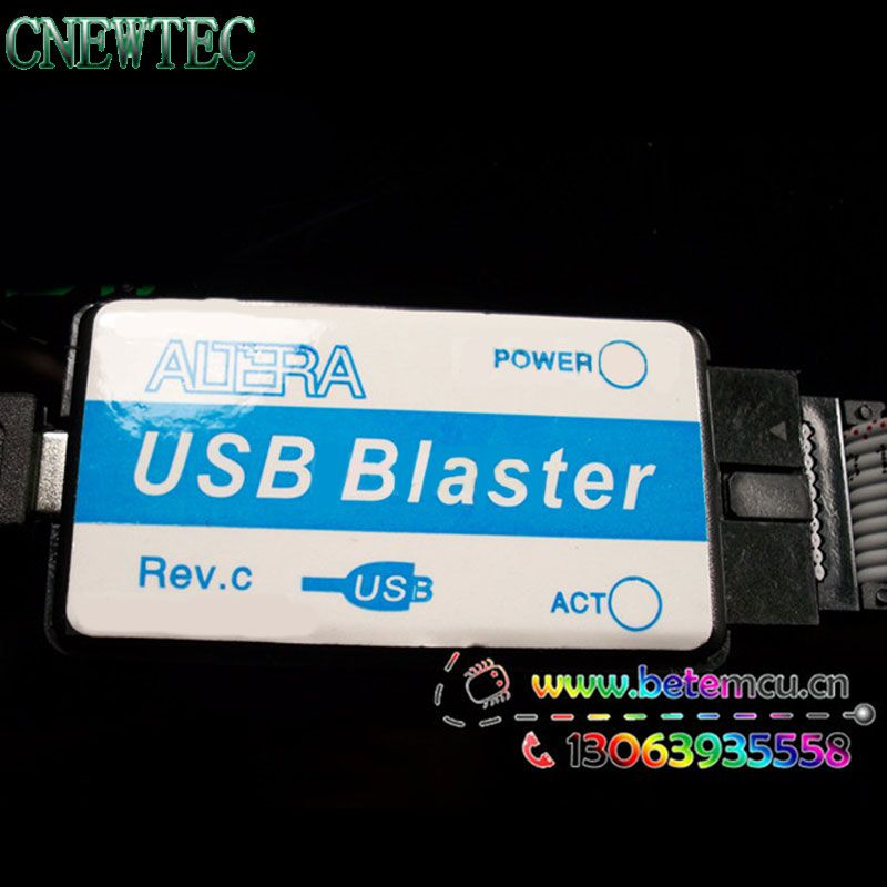 New Mini Usb Blaster Cable For CPLD FPGA NIOS JTAG Altera Programmer  in stock
