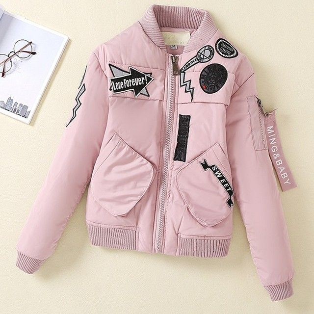 2016 New winter jacket women Korea fashion uniform warm jackets winter coat women cotton female parkas Women's winter jacket