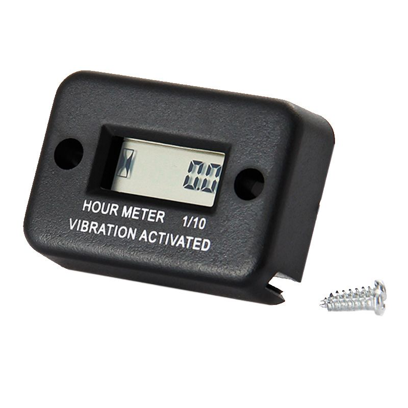 RL-HM016 Waterproof Vibration wireless hour meter for gas diesel engine and electric motor lawn mower chain saw tractor truck