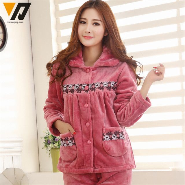 Onesie Combinaison Flannel Pajamas Sets Pyjama Women Soft Mink Fleece Hombre Thicken Sleepwear