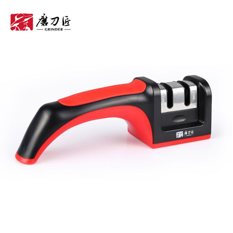 Hot sale Grinder knife sharpener 2 stages kitchen sharpening tool  amolador de faca T1206 Taidea production lanskey