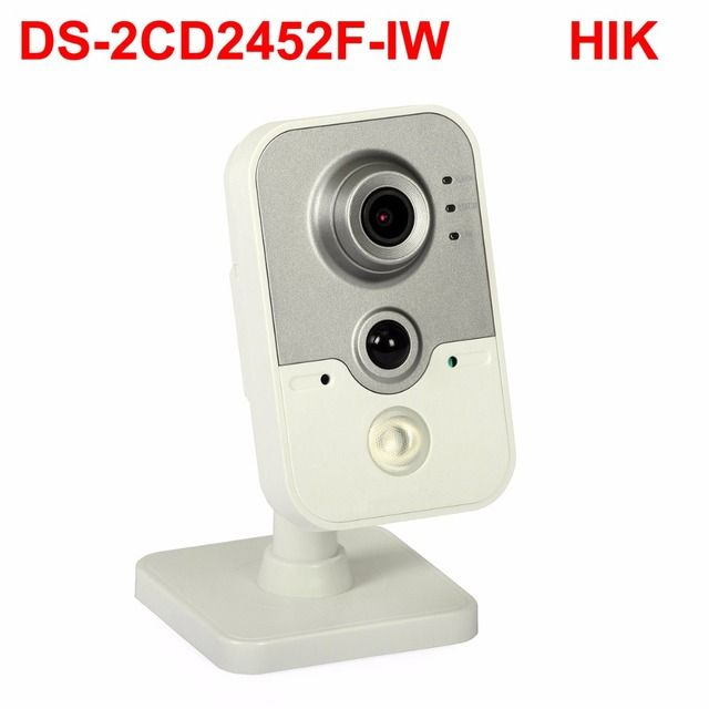 5mp wifi cube ip camera DS-2CD2452F-IW Audio, POE, PIR alarm cctv security camera smart home video surveillance