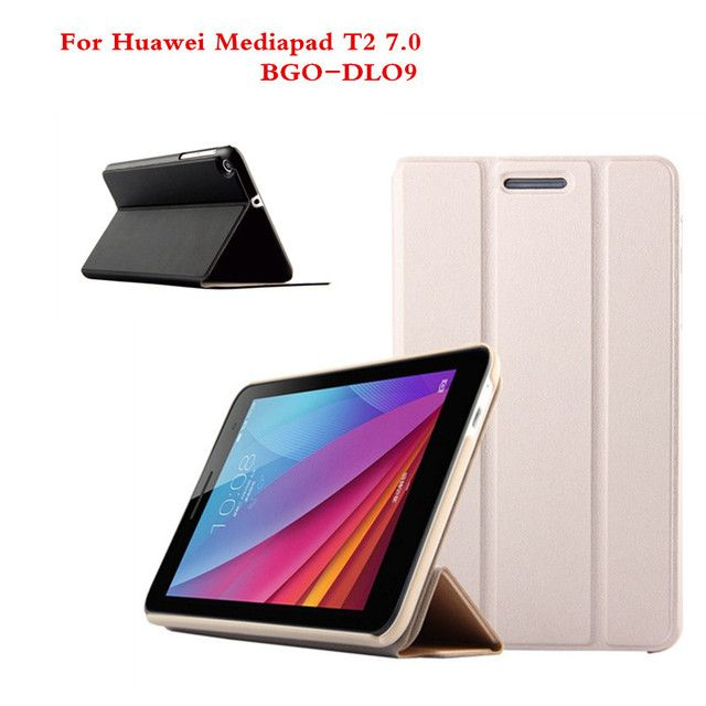 SD For Huawei Mediapad T2 7.0 BGO-DL09 BGO-L03 7.0 inch Tablet PC Cover PU Leather Stand Holder Slim Protective Flip Case