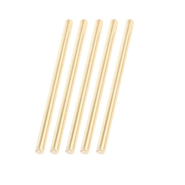 5 Pcs Car Helicopter Model Toy Diy Brass Axles Rod Bars 3Mm X 60Mm