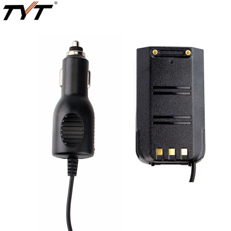 TYT Car Charger Battery Eliminator For TYT MD-380 Walkie Talkie Ham Radio Hf Transceiver