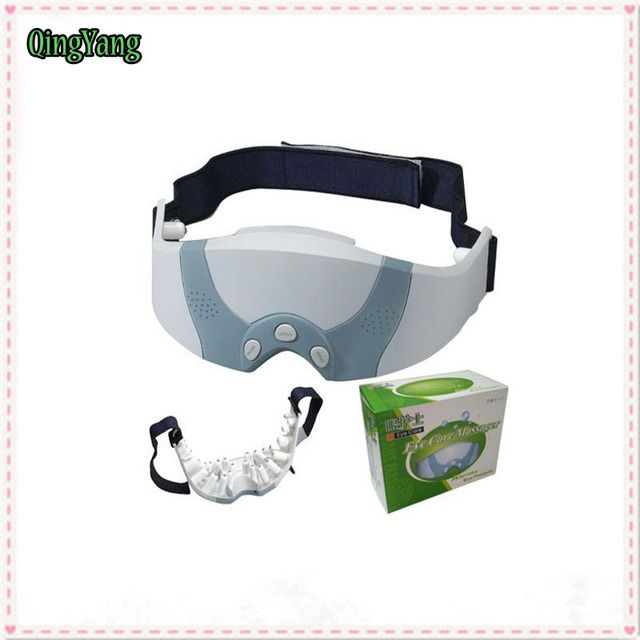 Eye Massager.Eye Mask Migraine Electric Scalp Body Wrap Health Care Forehead. Relax Pain Relief