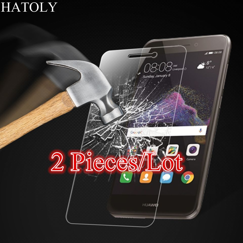 Glass Huawei P8 Lite 2017 Tempered Glass for Huawei P8 Lite 2017 Screen Protector for Huawei P8 Lite 2017 Glass HD Thin Film ^