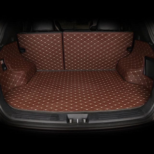 Custom Car Trunk Mat for Land Rover Discovery 3/4 freelander 2 Range Rover Sport Evoque accessories styling trunk pad
