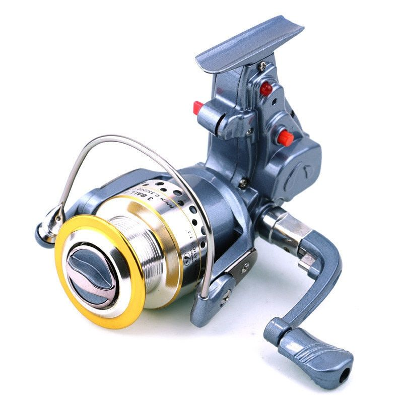 Electric Spinning Reel 4000 Series 3BB Automatic Fishing Devices Electric Reels Auto Spinning Coil Carp Fishing Tackle fr03