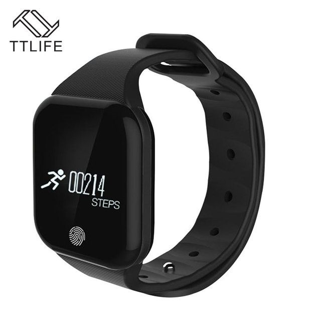 TTLIFE Smart Band X5 Bluetooth4.0 IP67 Waterproof Heart Rate Monitor Sleep Monitor Anti-lost Sports Smartband for Android