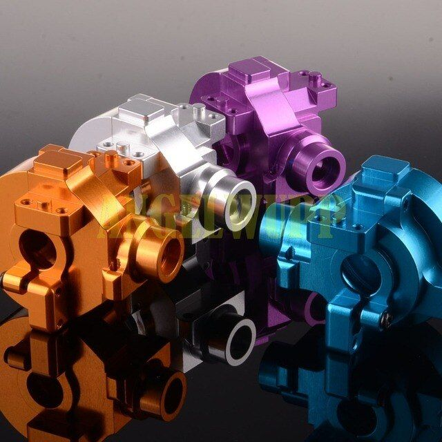 NEW ENRON Aluminium Gear Box 102075 122075 For 1/10 RC Car HSP Redcat Himoto