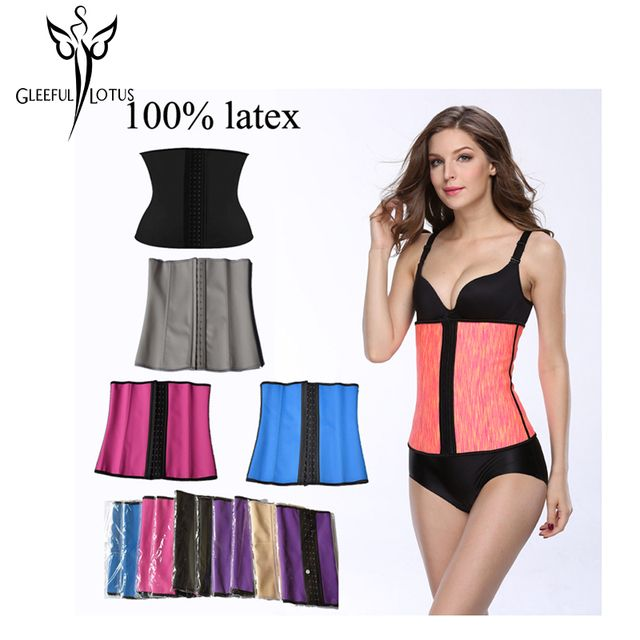 Women slimming body shaper hot sexy corset minceur fajas fajas reductoras gaine amincissante shapewear workout  waste trainer