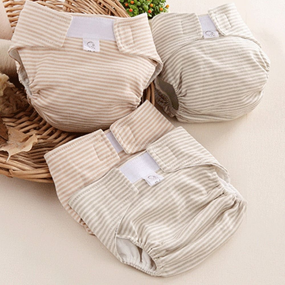 Baby Diapers Reusable Nappies Cloth Diaper Nappy Washable Toddler Girl Boys Waterproof Cotton Potty Training Pants