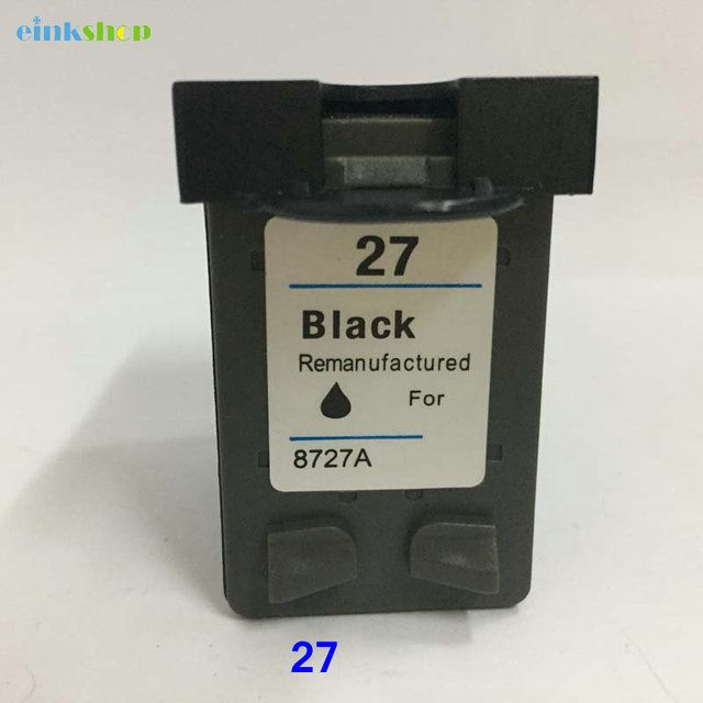 Einkshop compatible Ink Cartridge replacement for hp 27 27xl for Deskjet 3320 3322 3323 3325 3420 3535 3550 3745 3845 printer