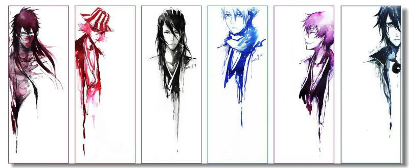 Custom Canvas Wall Decor Bleach Poster Bleach Figure Wall Stickers Mural Japan JUMP Comic Decals Kurosaki Ichigo Wallpaper #089#