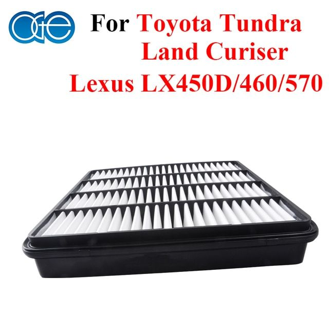 Car Parts Engine Air Filter For Toyota Tundra / Land Cruiser / Lexus LX450D / 460 / 570 Accessories OEM 17801-38030