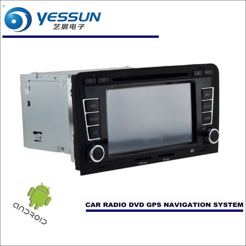 YESSUN Car Android Navigation System For Audi A3 S3 RS3 2003~2013 - Radio Stereo CD DVD Player GPS Navi BT HD Screen Multimedia