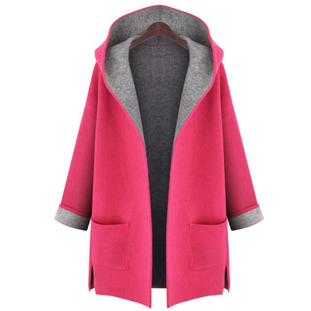 Fashion Women Coat New Women Thick Hoodies Large Size 5XL Sweatshirts Fashion 2 Colors Jacket