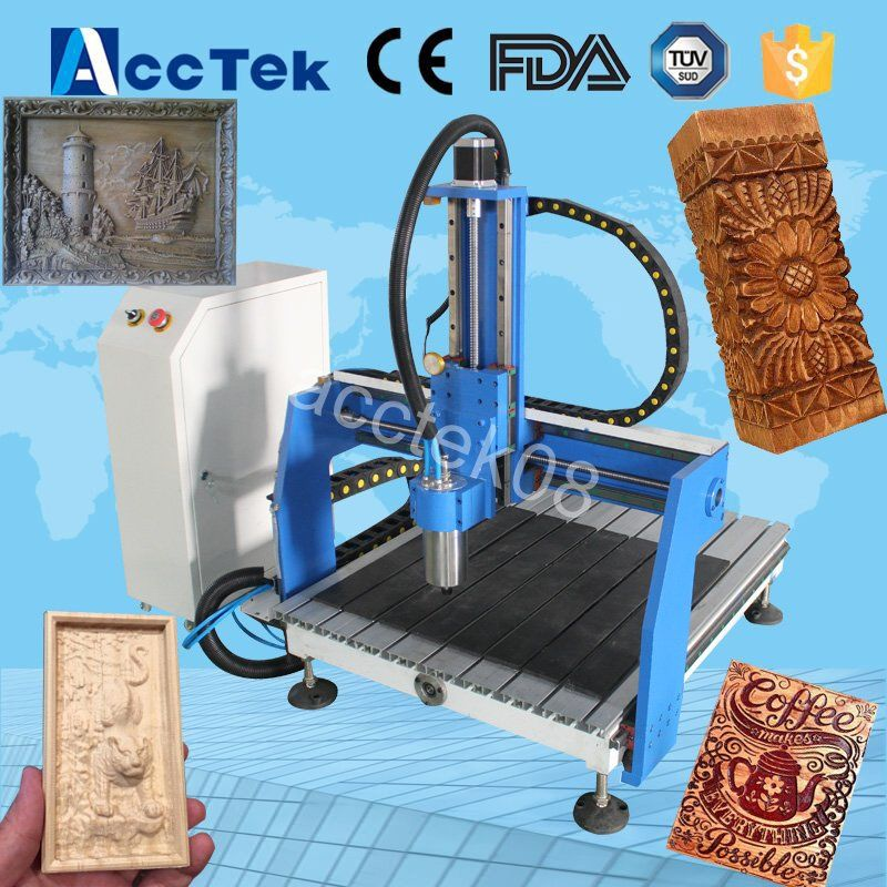 cnc milling machine wood/MDF/Plywood cutting machine 6040 mini 4 axis cnc router