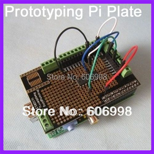 5pcs/lot Prototype Expantion Edition Prototyping Pi Plate For Raspberry Pi B/B+ Version