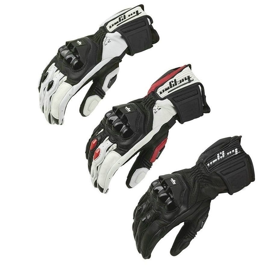 Motorcycle Gloves GP PRO Real Genuine Leather Gloves Full Finger Windproof Gloves Motocross Off-Road Sports gloves Racing Luvas