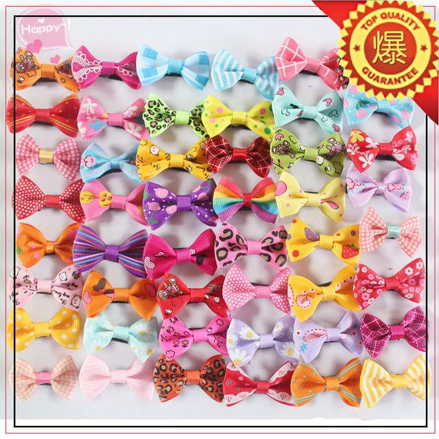 pet accessories small bowknot pet hairpin hair cartoon duck clip wholesale dog and cat hairpin 200pcs