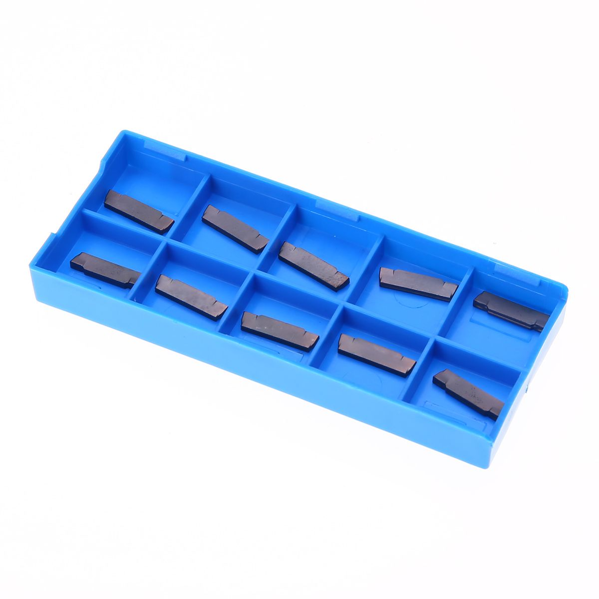10pcs MGMN200-G LDA Carbide Inserts High Quality Inserts with Box For Lathe Grooving Cutting Tool