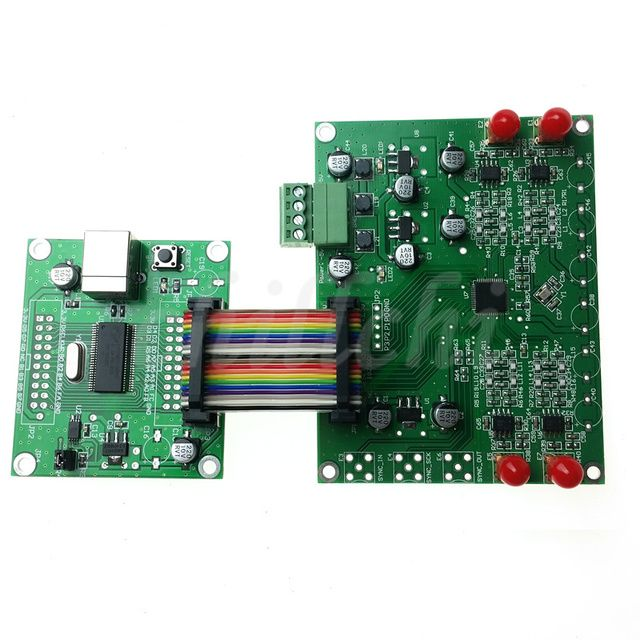 AD9959 DDS high frequency AD9958 module signal generator supports multi-channel V2 official software