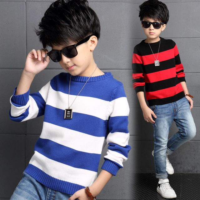 Fashion Boys Sweater 2016 Winter Autumn Infant Boy Outwear Sweater Cotton Kids Sweater Children Outerwear Knitwear Sweater
