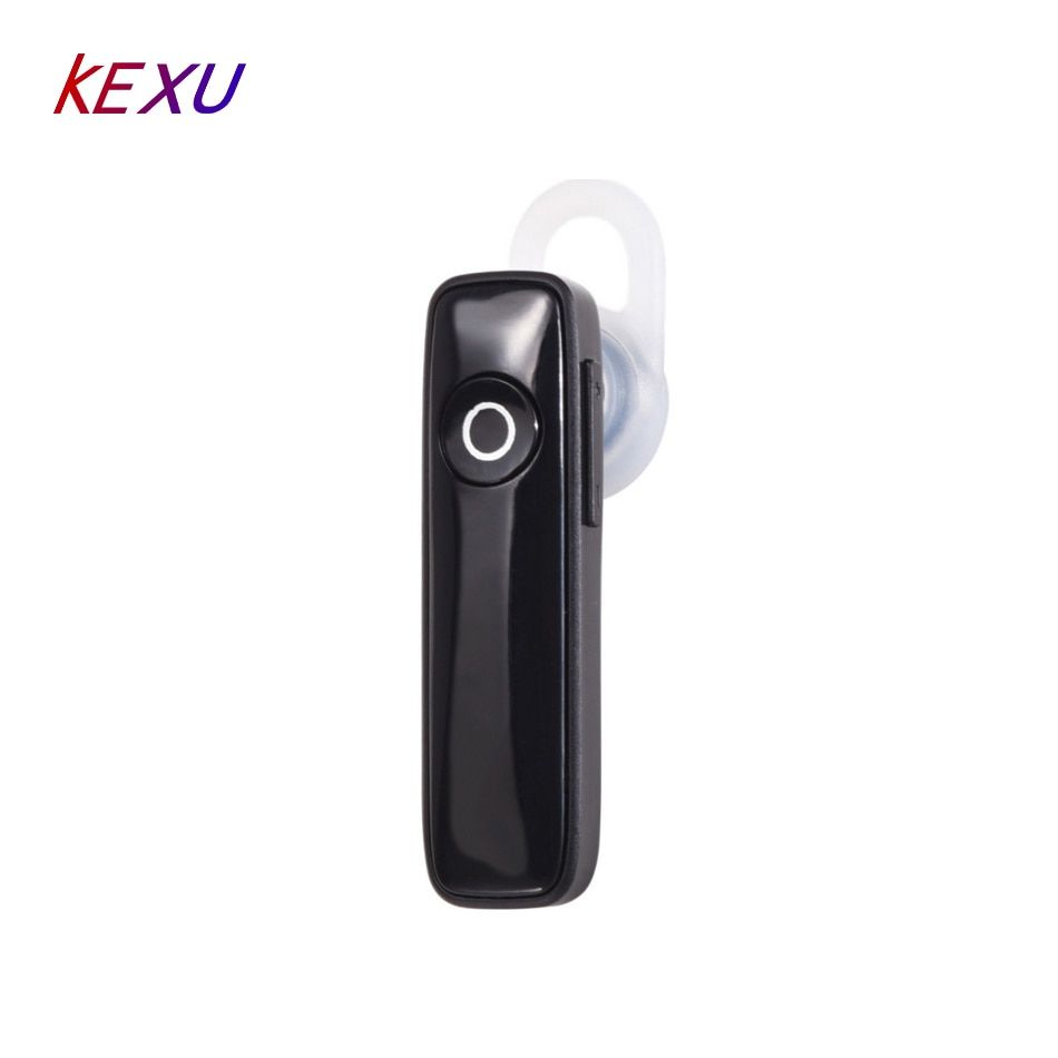 KEXU Driver Assistance Handfree Ear Hook Mini Earphone Wireless Bluetooth Headset With Microphone for Mobile Phone