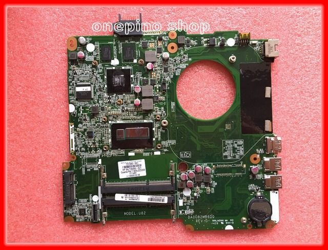 Wholesale New,laptop motherboard for HP 15-N Series 737986-501 DA0U82MB6D0 I7-4500U Built in 740M 2GB 100% Fully tested