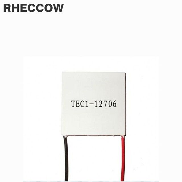 RHECCOW 20pcs TEC1 12705  42.5W 15.4V 5A Thermoelectric Cooler Peltier tec1-12705 semiconductor refrigeration